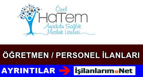 Özel Hatem Okulları Öğretmen ve Personel Alımı 2015