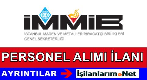 İstanbul Maden ve Metaller İhracatçı Birlikleri Personel Alımı