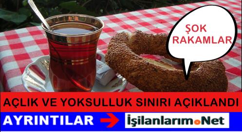 Türk-İş Temmuz 2015 Açlık ve Yoksulluk Sınırı Açıklandı