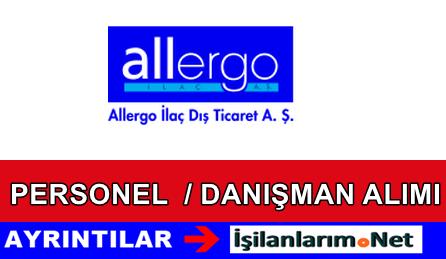 Allergo İlaç Sanayi Personel Mümessil Alımı İş İlanları