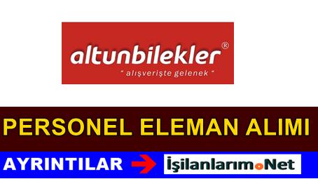 Ankara Altunbilekler Mağaza Personel Alımı İş İlanları 2015
