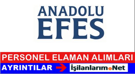 Anadolu Efes Personel Eleman Alımı İş İlanları 2015