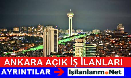 Başkent Ankara Personel Eleman Alımları Açık İş İlanları