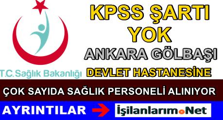 Ankara Kamu Hastaneleri Kurumu Personel Alımı 2015