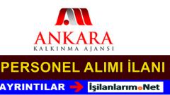Ankara Kalkınma Ajansı Uzman Personel Alımı İlanı 2015