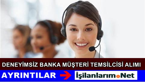 Telefon Bankacılığı Müşteri Temsilcisi Alımı İlanı 2015