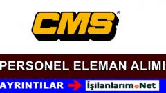 CMS Jant Fabrikaları Personel Eleman Alımı İş İlanları 2015