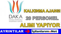 Doğu Anadolu Kalkınma Ajansı Personel Alımı Yapıyor 2015