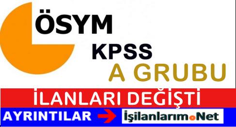 KPSS A Grubu İlanları Artık Gazetelerde  Yayımlanmayacak