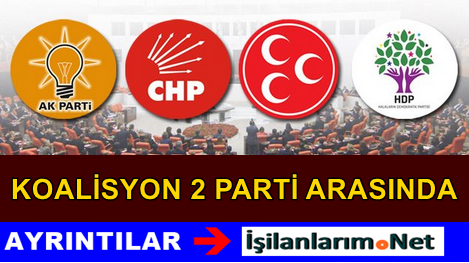 AK Parti'nin Koalisyon Yapmayacağı Partiler Belli Oldu