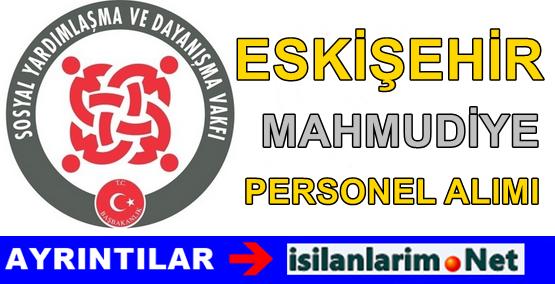 Eskişehir Mahmudiye SYDV Personel Alımı İlanı 2015