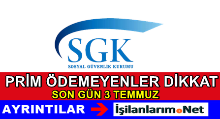 SGK 2015 Prim Ödeme Gün Süresi Uzatılması Duyurusu