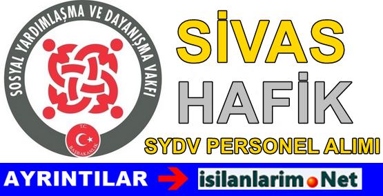 Sivas Hafik SYDV Personel Alımı Alımı Başvurusu 2015