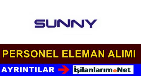Sunny Elektronik Firma Personel Eleman Alımı İş İlanları
