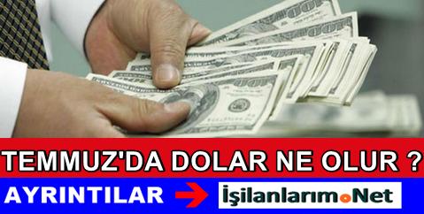 Temmuz 2015 Dolar Kuru Ne Olur Uzman Yorumları