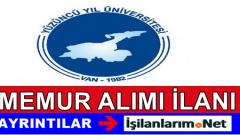 Van Yüzüncü Yıl Üniversitesi Memur (Avukat) Alımı 2015