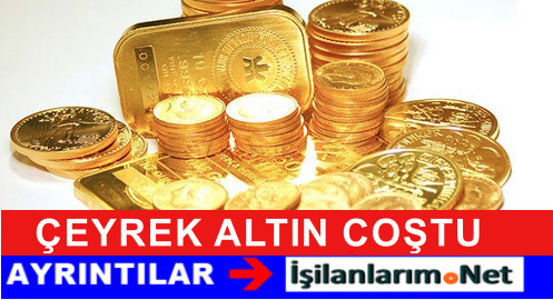 Ağustos 2015 Çeyrek Altın Fiyatları Yükselişe Geçti