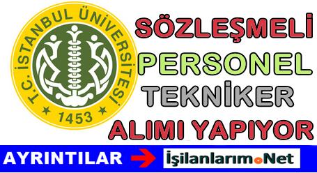 İstanbul Üniversitesi Hemşire ve Sağlık Teknikeri Alımı Yapıyor
