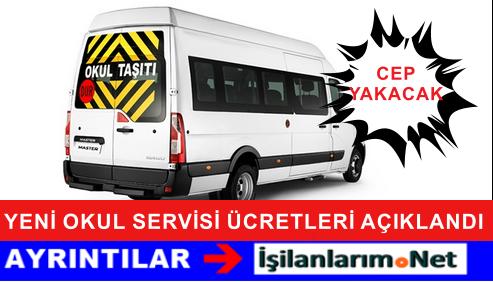 İstanbul ve Ankara Okul Servis Ücretleri 2015 Yılı Fiyatlar