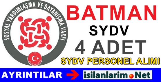 Batman SASON Personel Büro Görevlisi Alımı İlanı 2015