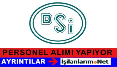 DSİ Devlet Su İşleri Genel Müdürlüğü Personel Alımı İlanı 2015