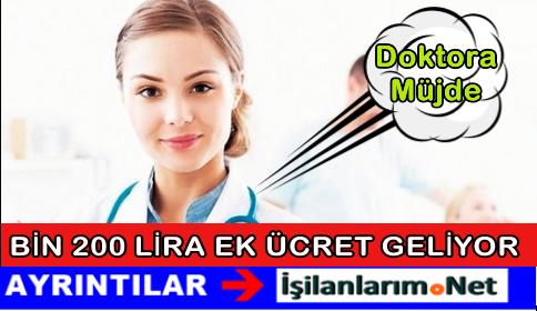 Sağlık Bakanı Açıkladı: Doktora 1.200 Lira Ek Ücret Geliyor