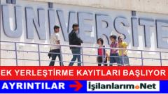 31 Ağustos 2015 Üniversite Ek Yerleştirme Kayıtları Başlıyor