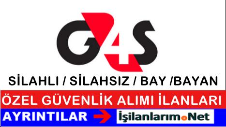 G4S Güvenlik Personel Eleman Alımı İş Başvurusu 2015