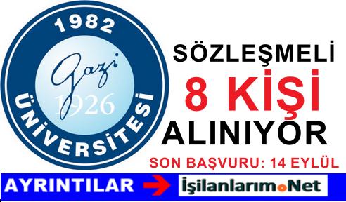 Ankara Gazi Üniversitesine 8 Kişi Hemşire Alımı Yapılıyor