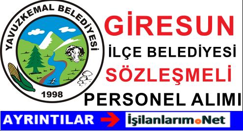 Yavuzkemal Belediyesi Sözleşmeli Personel Alımı İlanı 2015
