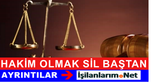 Hakim Olmak İçin Hukuk Harici Bölümlerden Alım Yapılacak