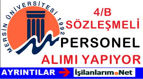 Mersin Üniversitesi Sözleşmeli Sağlık Personeli Alımı 2015