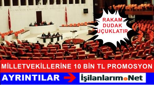 Halkbankası'ndan Milletvekillerine 10 BİN TL Promosyon
