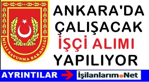2015 MSB Ankara Deniz İkmal Komutanlığı İşçi Alımı İlanı