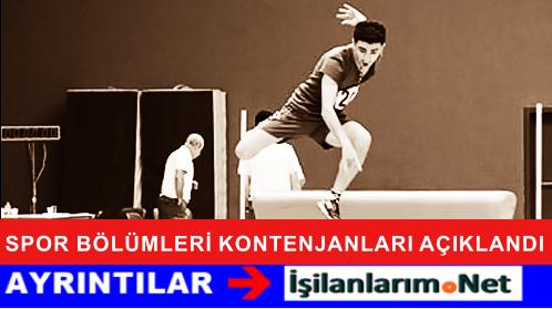 2015 ÖSYM Milli Sporcular Kontenjan ve Başvuru Şartları