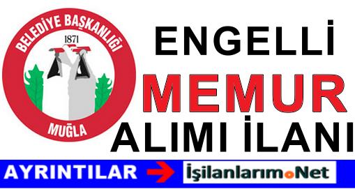 Muğla Büyükşehir Belediyesi Engelli Memur Alımı 2015