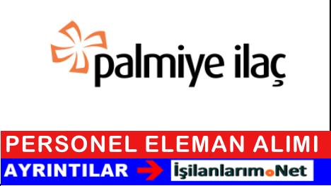 Palmiye İlaç Kimya Personel Mümessil Alımı İş İlanları