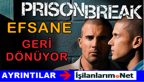 Prison Break 5.Sezon Bölümleriyle Ekranlara Geri Dönüyor
