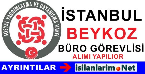 SYDV Beykoz Ağustos İstanbul İlanı