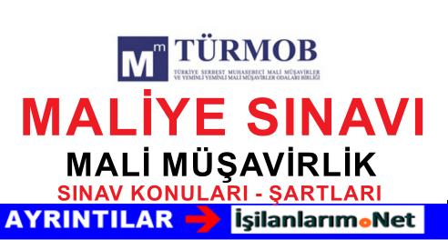TÜRMOB Yeminli ve Serbest Mali Müşavirlik Sınavı Açtı 2015
