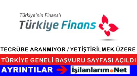 Türkiye Finans Bankası Personel Alımı Genel Başvuru 2015