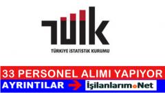 Türkiye İstatistik Kurumu (TUİK) Uzman Yardımcısı Alımı İlanı