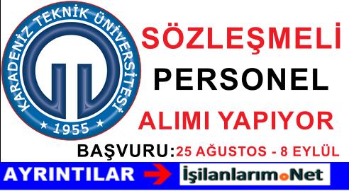 Karadeniz Teknik Üniversitesi (KTÜ) Hemşire Alımı İlanı 2015