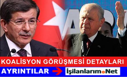 AKP-MHP 17 Ağustos Koalisyon Görüşmesinin Detayları