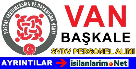Van Başkale SYDV Personel Görevli Alımı Başvurusu 2015