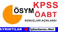 2015 ÖABT Coğrafya Sınavı Sonuçları Açıklandı 18 Eylül 2015
