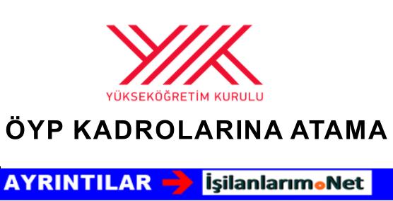Başbakanlık'tan ÖYP Kadrolarına Atamalar İçin İzin Verildi