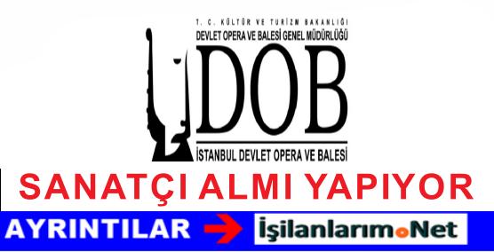 İstanbul Devlet Opera Balesi Bale Sanatçısı Personel Alımı İlanı