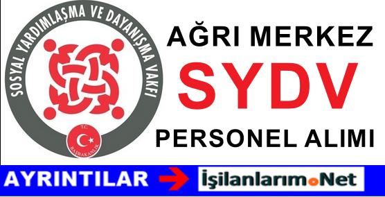 Ağrı Merkez SYDV Personel Alımı İlanı İş Başvurusu 2015