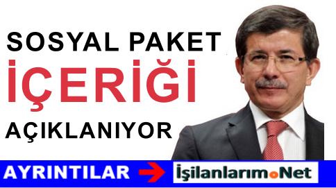 """AK Parti Merakla Beklenen """"Sosyal Paket""""i Açıklıyor"""